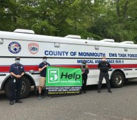 Teen siblings raise $26K for NJ EMS Task Force, hospitals