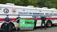 Teen siblings raise $26K for NJ EMS Task Force, hospitals