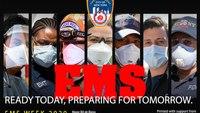 FDNY EMS Week poster spotlights pandemic responders