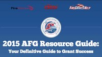 How to start your fire grant application now