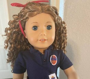 Richmond Ambulance Authority (RAA) EMT April O'Quinn was shocked to receive a call from her niece Lacey telling her she had been selected by American Girl as a hero on the frontlines for their