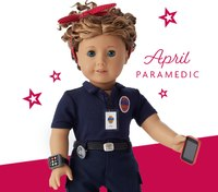 Va. EMT made into American Girl doll