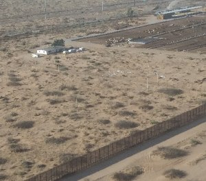 Effective enforcement efforts at the US-Mexico border are affected by manpower shortages, multi-jurisdictional issues, and remote and inhospitable terrain.