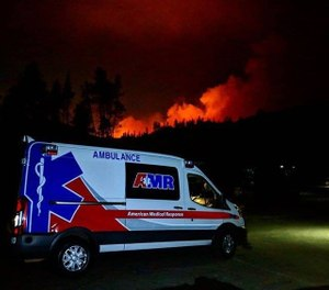 The 6-1 vote Tuesday extends the county's contract with AMR through the end of September.  (Photo/ American Medical Response)