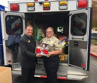 Las Vegas AMR donates food for homebound seniors' pets