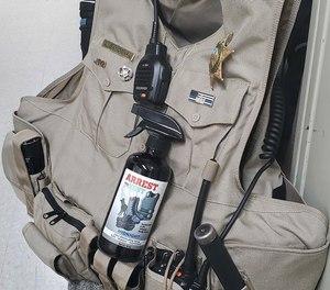 Arrest My Vest natural odor eliminator is strong enough for body armor, safe enough for kids. (image/Arrest My Vest)