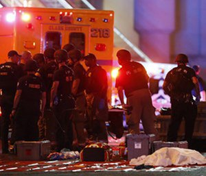 Within 20 minutes of last year's mass shooting in Las Vegas, doctors and nurses at Sunrise Hospital's emergency room knew whathorror was unfoldingat the Route 91 Harvest Festival. (Photo/AP)