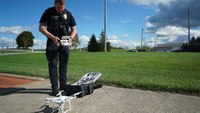 How to evaluate the flying skills of police drone pilots