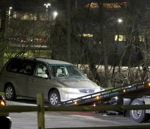 Cincinnati authorities are investigating the death Tuesday of 16-year-old Kyle Plush, who was trapped inside his minivan. (Photo/AP)