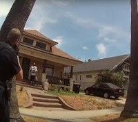 LAPD releases first body-cam footage after in-custody death