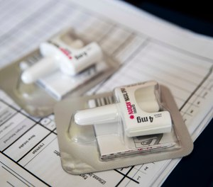 Can you safely allow a patient to refuse care on scene after a dose of intranasal naloxone? Are there other factors that may be assessed to help mitigate risk or prompt transportation for further care? (Photo/Getty Images)