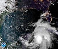 Hurricane Michael gains strength, takes aim at north Florida