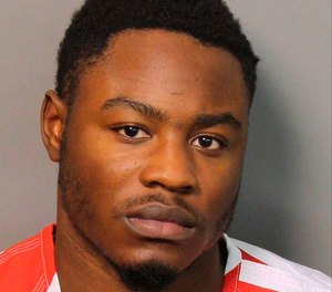This Monday, Dec. 3, 2018 booking photograph provided by the Jefferson County Sheriff's Office in Birmingham, Ala., shows Erron Brown, who is charged with attempted murder in a shooting at a shopping mall on Thanksgiving. Police in Hoover, Ala., shot and killed another black man, Emantic