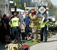 Officials: 1 dead, 17 hurt, including FF, in NC gas explosion