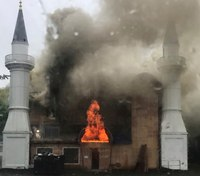 FBI, DHS investigating suspected arson in Conn. mosque fire