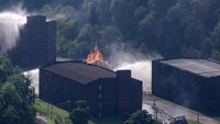 Decision on extinguishing Jim Beam fire a 'day or two' away