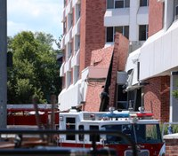 Officials: Searches find nobody in blast-damaged Nevada dorm