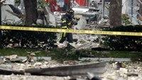 21 hurt in shopping plaza blast: Gas lines found ruptured