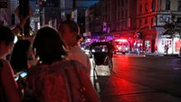 NYC power restored; first responders help with traffic, fires and people trapped in elevators