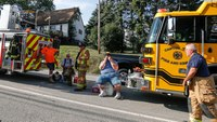 3 firefighters injured in Pa. house explosion