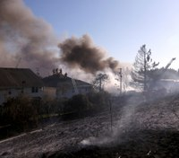 Authorities: Destructive 4-alarm grass fire in Ore. was arson