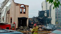 Fire destroys synagogue in Duluth, Minn.
