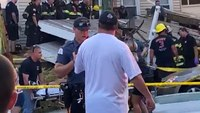 Decks collapse during NJ firefighter event; at least 22 injured