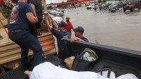 Crews assess Houston-area damage after Imelda leaves 4 dead