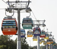 Firefighters save park-goers stuck on Disney World's new aerial cable cars