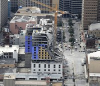 Hotel collapse in New Orleans leaves 2 dead, 1 missing