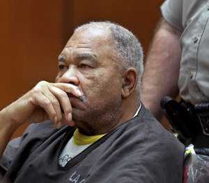 In this March 4, 2013, file photo, Samuel Little appears at Superior Court in Los Angeles. Little, pronounced the most prolific serial killer in U.S. history, confessed his crimes to homicide detectives well-briefed on how to keep him talking and get the information they needed.
