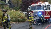 Video: NJ houses catch fire after small plane crash