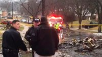 Plane crash sparks house fire in Maryland neighborhood