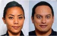 Homes burn after shooter kills 2 Honolulu officers