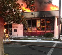 13-year-olds charged with murder in library blaze that killed 2 FFs