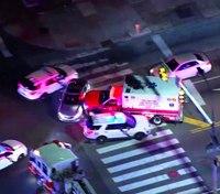 Video: Police pursue stolen ambulance in Philadelphia, arrest driver
