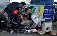 California governor: 60,000 homeless could get COVID-19