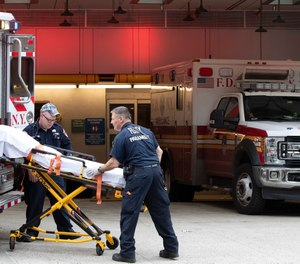 A study conducted by the FDNY's chief medical officer found EMS providers at the department were five times more likely to contract COVID-19 than their firefighter counterparts.