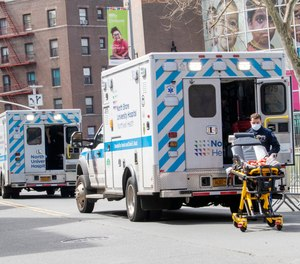 The state of New York is offering $29 million in grants for first responders and other essential workers.