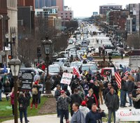Thousands gather in protest of Mich. stay-at-home order