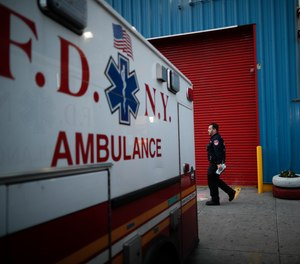 """""""We're thrilled with the honorable Judge Broderick's ruling. He had to go through the city's kitchen sink argument,"""" saidMolly Elkin, the lead attorney for the EMS workers. """"Everything they put in the kitchen sink he shoved down the drain."""""""