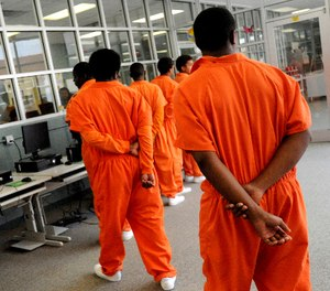 Fear and frustration is raging as fast as the coronavirus in some juvenile detention centers, with riots and escapes reported in hotspot facilities such as New York and Louisiana. (Val Horvath/The Shreveport Times via AP)