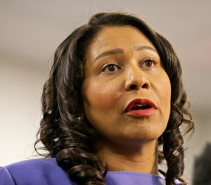 San Francisco Mayor London Breed has proposed $17 million to fund four mental health crisis response teams, consisting of specialized paramedics and behavioral health experts, for two years. (AP Photo/Eric Risberg)