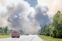 Hundreds evacuated as wildfires rage in Florida Panhandle