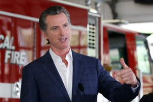 California Governor Gavin Newsom declined for a while to release details of a nearly $1 billion contract to buy protective masks from a Chinese company. And numerous California municipalities have stopped or slowed their fulfillment of open-records requests. Image: AP Photo/Rich Pedroncelli