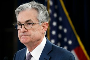 In this March 3, 2020 photo, Federal Reserve Chair Jerome Powell pauses during a news conference in Washington. Image: AP Photo/Jacquelyn Martin