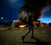 Fires erupt in Minneapolis amid growing protests over unarmed man's death