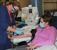 Researchers test if survivor plasma could prevent COVID-19