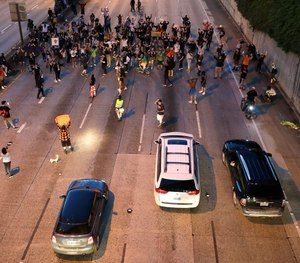 Everyone has a right to know how the law applies when vehicles meet non-permitted protestors on the road.
