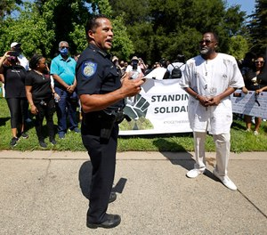 Absent extreme solutions such as defunding police agencies or leaving the status quo completely unchanged, reasonable adults need to discuss equitable solutions. (AP Photo/Rich Pedroncelli, File)